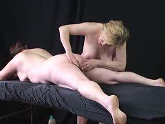 Deutsche Lesbenmassage