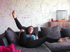 videos moesenreiben mit leggings