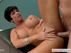 Christian XXX  & Milf Star Shay Fox nageln